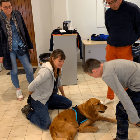 Service dog clients